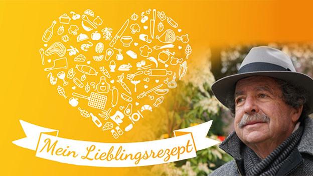 Andreas Blaser mit Schnauz, trägt einen grauen Hut und einen grauen Schal.
