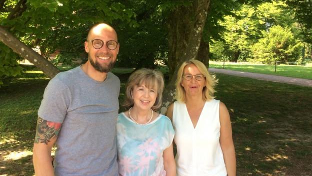 Ruth Biberstein, Marco Büchel, Persönlich Gäste bei Sonja Hasler