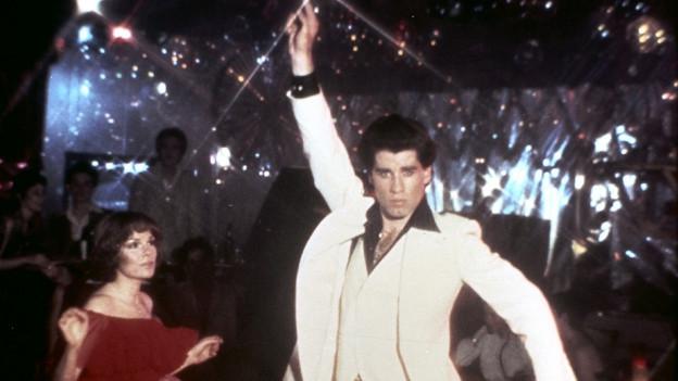 Filmszene aus Saturday Night Fever.