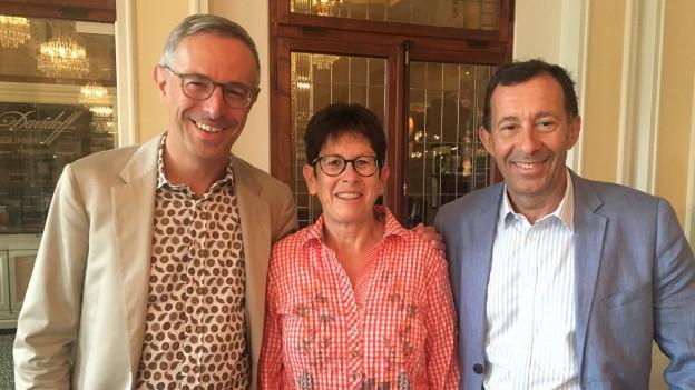 Helen Gfeller und Hansueli Schläppi sind bei Dani Fohrler im «Persönlich» zu Gast.