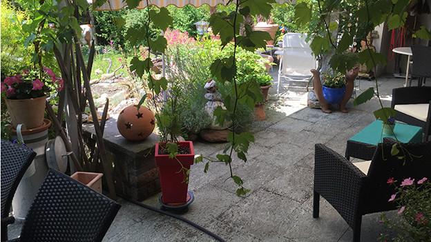 Lauschiger Garten.