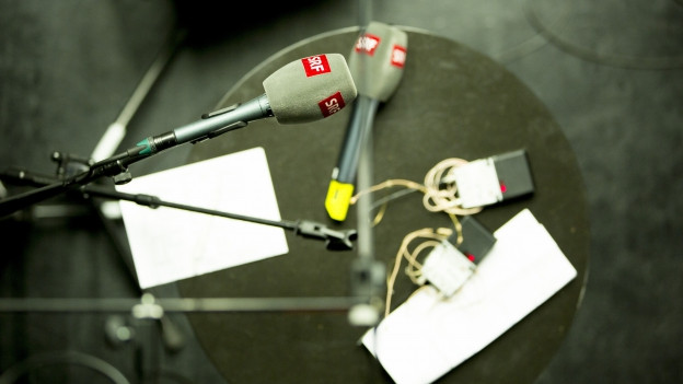 Die «Ohrfeigen - Live Radioshow» in einer Wiederholung vom 28. September 2011.
