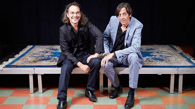 Christian Brantschen und Pedro Lenz