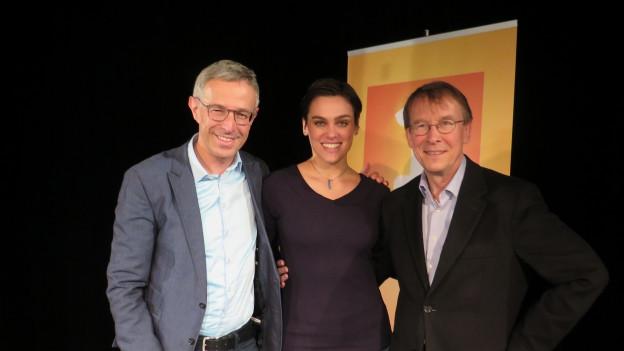 «Persönlich» mit Nina Burri und Martin Fey zu Gast bei Dani Fohrler