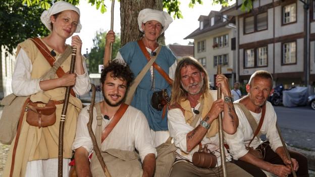 Während zwei Wochen waren die Pilger unterwegs.