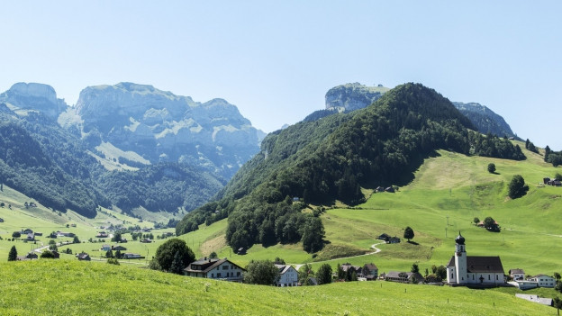 Weissbad, Appenzell Innerrhoden.