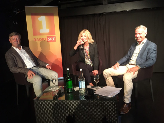 Daniel Weder, Daniela Spillmann und Dani Fohrler Persönlich Gastgeber