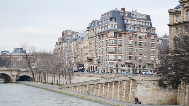Paris, Seine-Ufer.