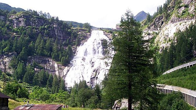Wasserfall «Toce» im Formazza-Tal