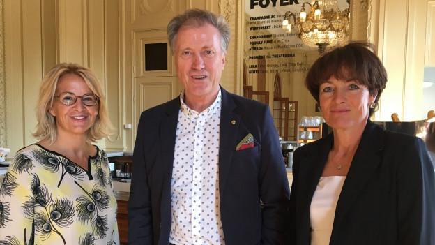 Persönlich mit Franziska Tschudi und Herbert Bolliger