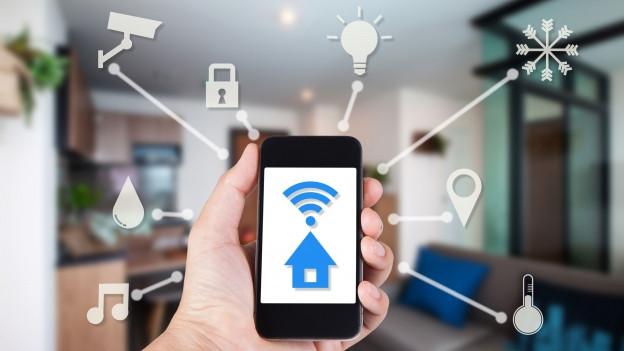 Mit dem Smartphone lassen sich technische Geräte steuern
