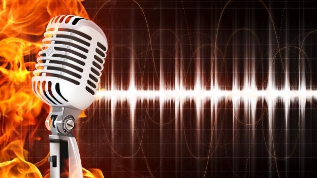 Interessante Geschichten hinter dem Mikrofon