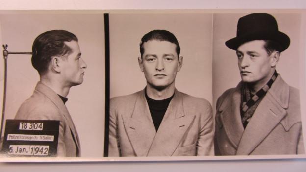 Polizeibilder von Ernst S.