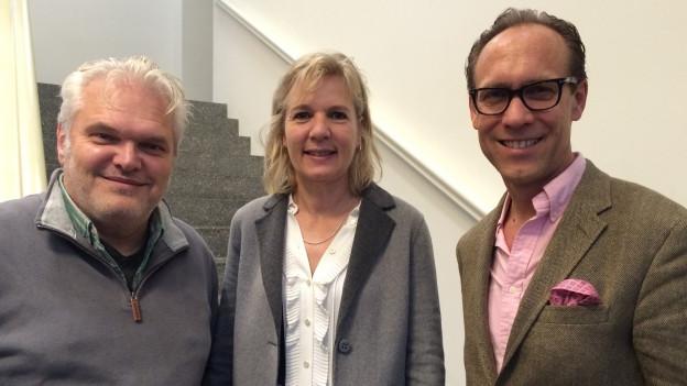 Zu Gast bei Christian Zeugin: Brigit Wyss und Laszlo Kish