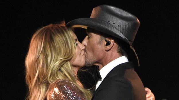 Seit 1996 ein glückliches Ehepaar - Faith Hill und Tim McGraw