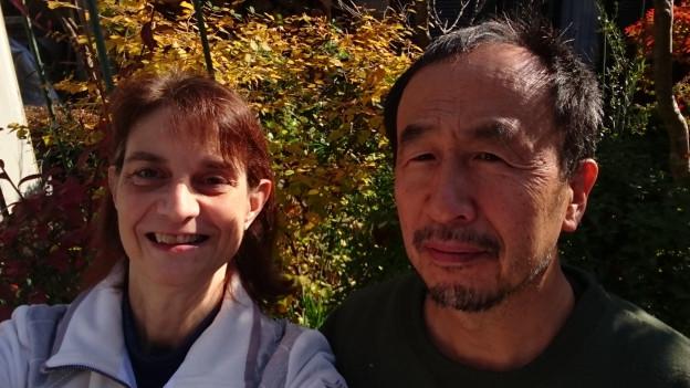 Barbara Inui und Ihr Mann Tadashi Inui leben in Oyodo in Japan.