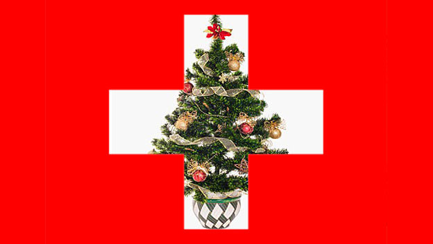 Tannenbaum auf Schweizerkreuz
