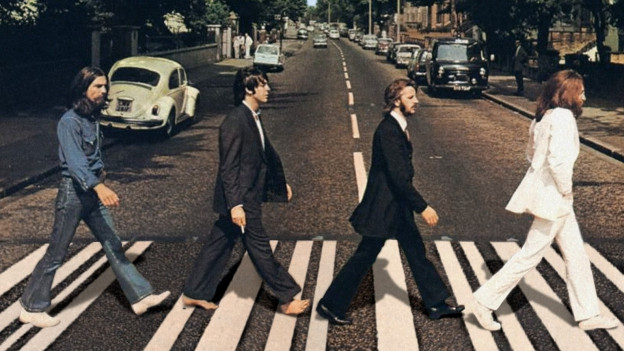 Legendäres Beatles-Foto ab Abbey Road-Album