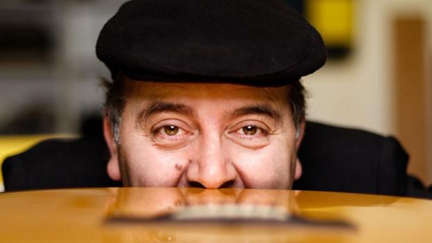 Roberto Brigante Portrait-Aufnahme.