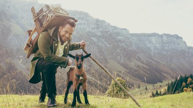 Trauffer auf der Alp im Justistal