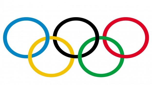 Die 5 Olympischen Ringe