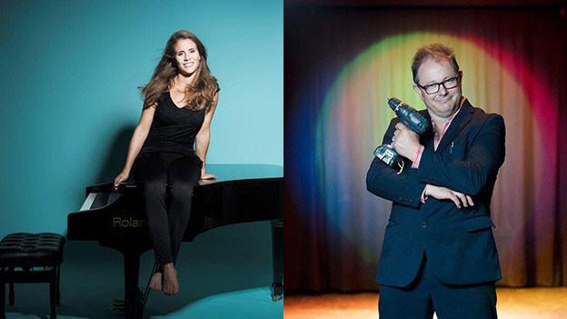 Musikerin Eliane und Stefan Heuss.