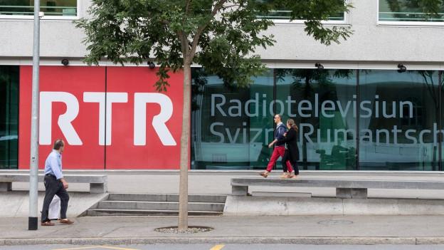 Das Medienhaus RTR in Chur.