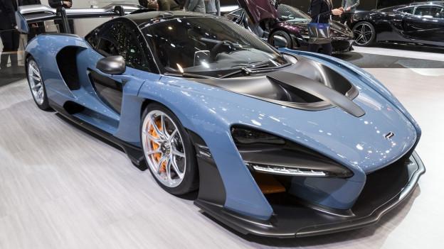 McLaren am Automobilsalon Genf.
