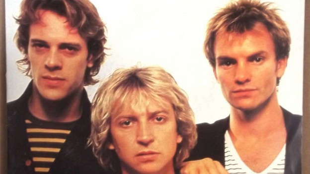 The Police mit Sting (rechts) 1980