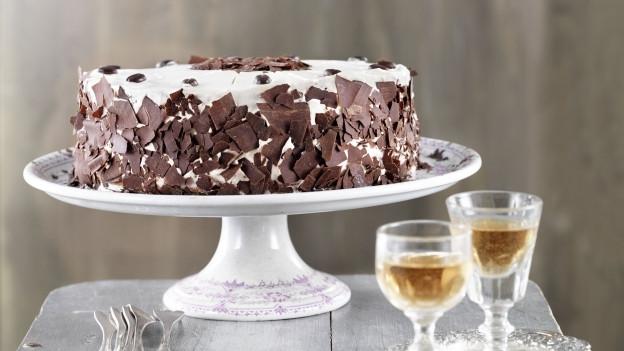 Mocca-Schokoladen-Torte