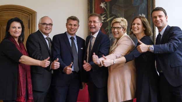 Die neue Berner Regierung wird über die Direktionsreform entscheiden.
