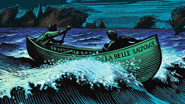 Über den wilden Fluss ist der erste Teil der zweiten Trilogie von Philip Pullman (Coverausschnitt Random House)
