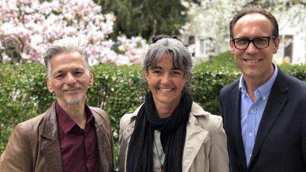 """""""Persönlich Gäste"""" von Christian Zeugin, Pirmina Caminada und Claudio Pagelli"""