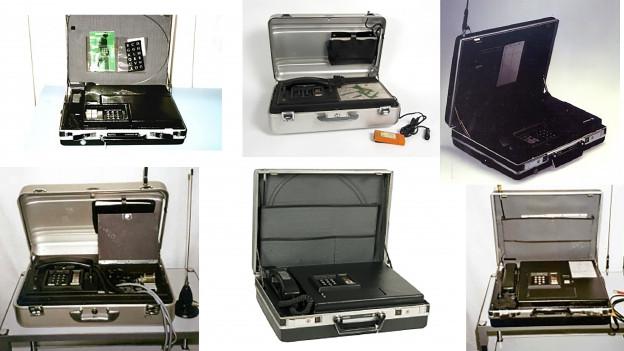 Natel A das erste mobile Autotelefon kam am 1. April 1978 auf den Markt.
