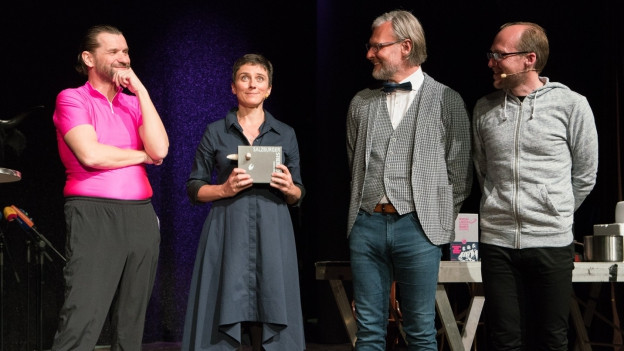Martin Puntigam, Lisa Oberzaucher, Helmut Jungwirth, Florian Freistetter