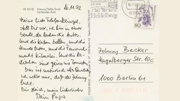 """""""Meine liebe Telefonklingel..."""" - Postkarten von Jurek Becker"""