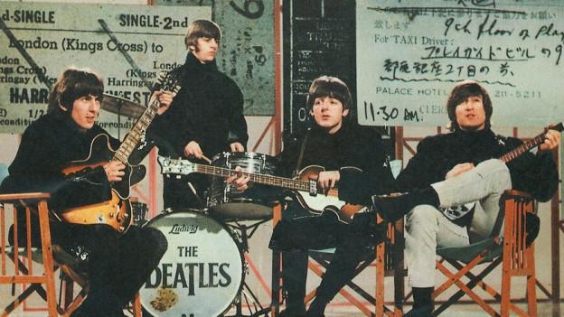 The Bealtes 1968 auf dem Höhepunkt