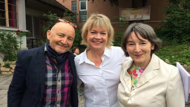 """""""Persönlich Gäste"""" von Daniela Lager, Rosmarie Schneider und Felix Mühleisen"""