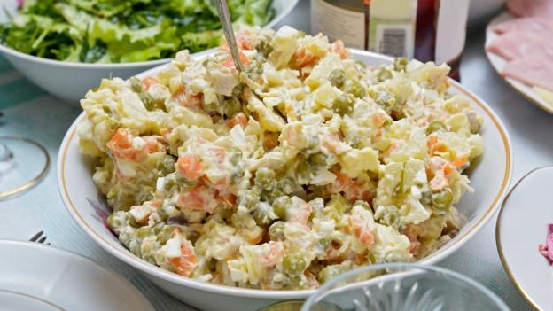 Russischer Salat.