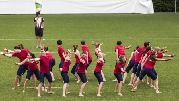 Das letzte Eidgenössische Turnfest war 2013 in Biel. Das nächste findet 2019 in Aarau statt.