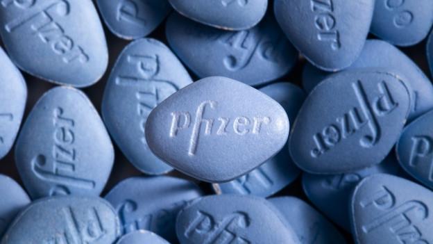Blaue Pillen.
