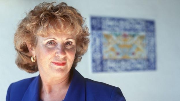 Seit über 20 Jahren lebt die heute 85jährige Eveline Hasler in Ronco (TI)