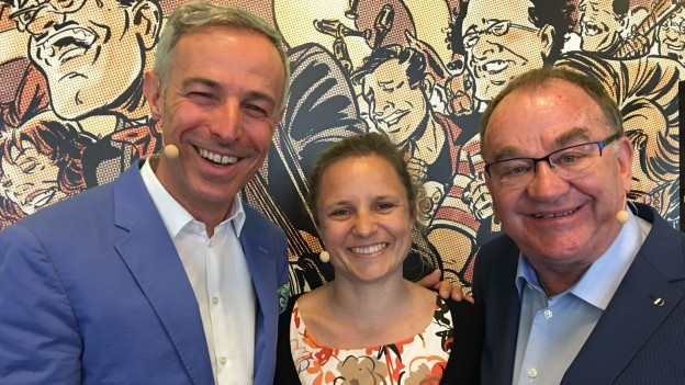 Dani Fohrler, Gisala Hurschler und Ernst Heller