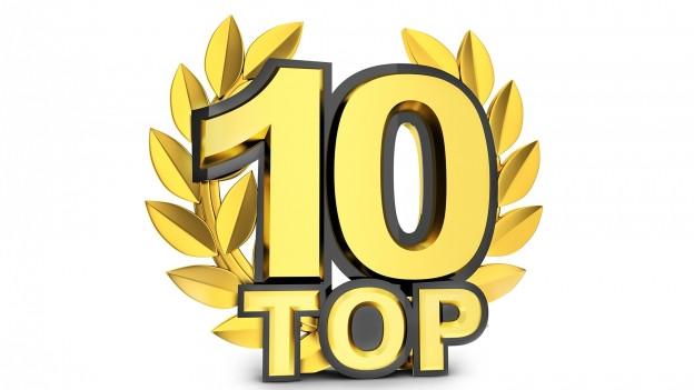 Top 10 dargestellt