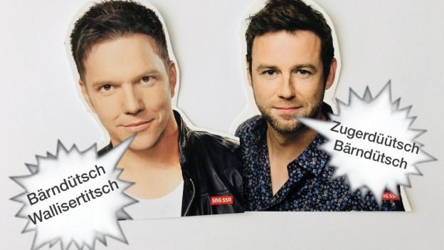 Die Moderatoren Sven Epiney und Nik Hartmann