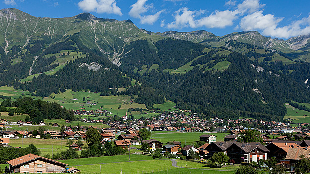 Frutigen im Berner Oberland