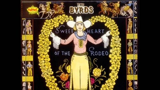 Das Plattencover besteht aus Cowboy-Artikel von 1937