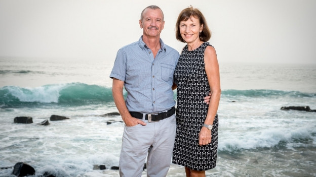 Emil und Margrit Kündig in Liberia.