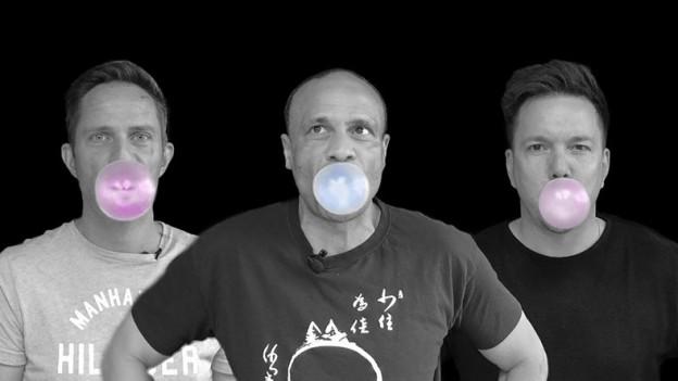 Wer schafft die grösste Kaugummi-Blase?