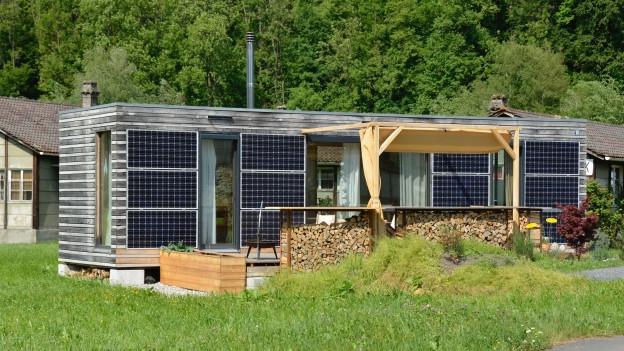 In diesem Tiny House lebt Tanja Schindler seit sechs Jahren.